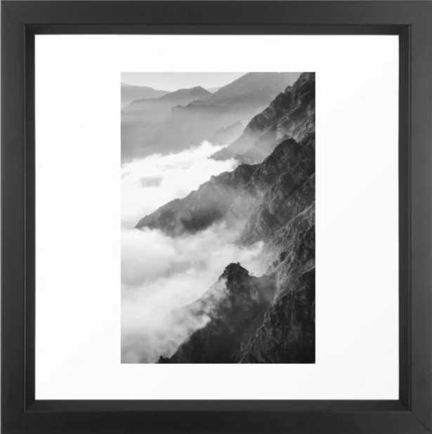 Mountains Framed Print - Society6