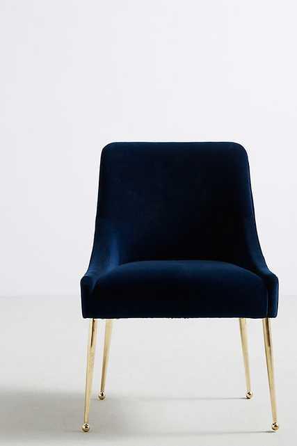 Velvet Elowen Chair - Anthropologie