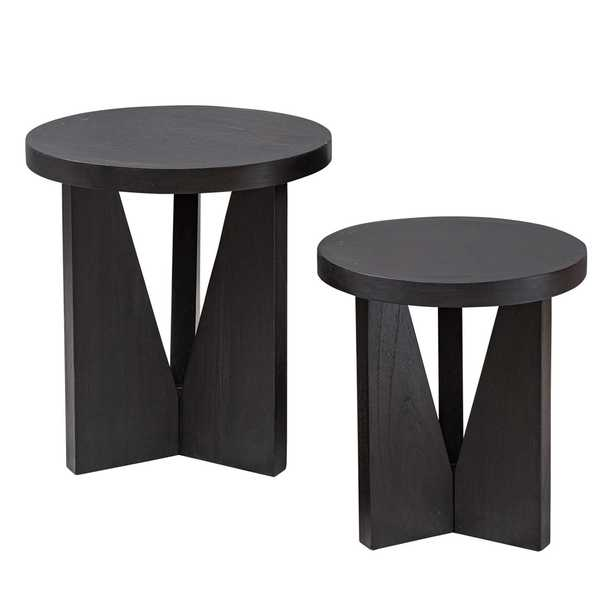 NADETTE NESTING TABLES, S/2 - Hudsonhill Foundry