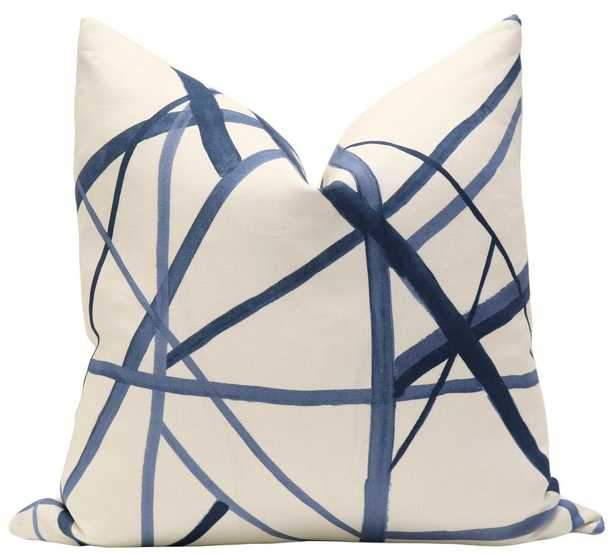 """Channels // Periwinkle, pillow cover 20"""" x 20"""" - Little Design Company"""