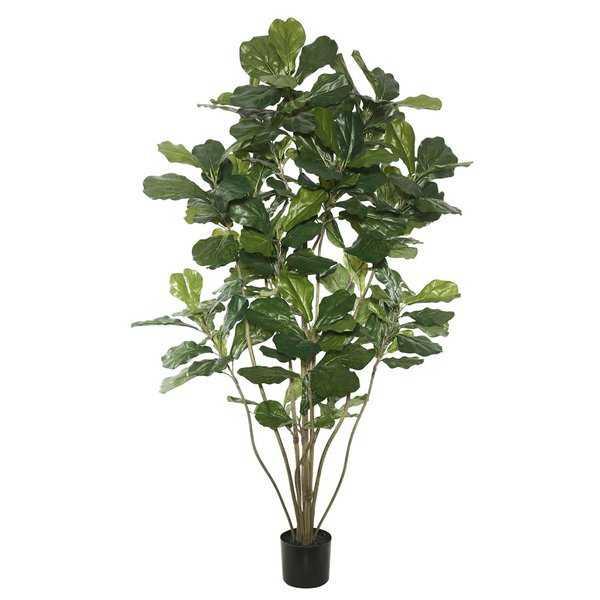 Floor Fiddle Leaf Fig Tree in Pot - Wayfair