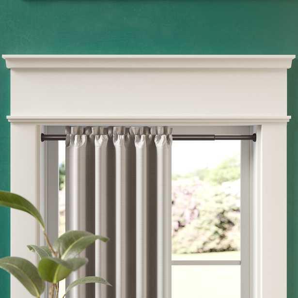 Bannruod Metal Tension and Inner Curtain Tension Rod - Wayfair