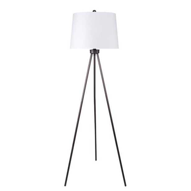 """Guenther 62"""" Tripod Floor Lamp - Wayfair"""