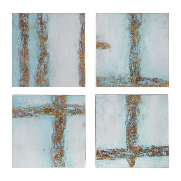 Cross Roads Hand Painted Canvases, S - Hudsonhill Foundry
