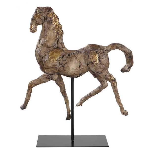 Caballo Dorado Sculpture - Hudsonhill Foundry