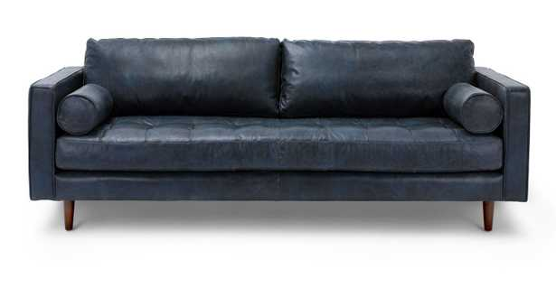 Sven Oxford Blue Sofa - Article