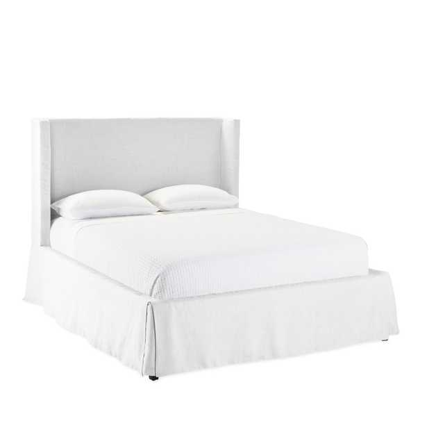 Tall Broderick Slipcovered Bed - Serena and Lily
