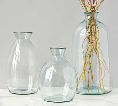 Artisanal Glass Vase, Small - Pottery Barn