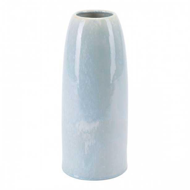 Dina Lg Vase Blue - Zuri Studios