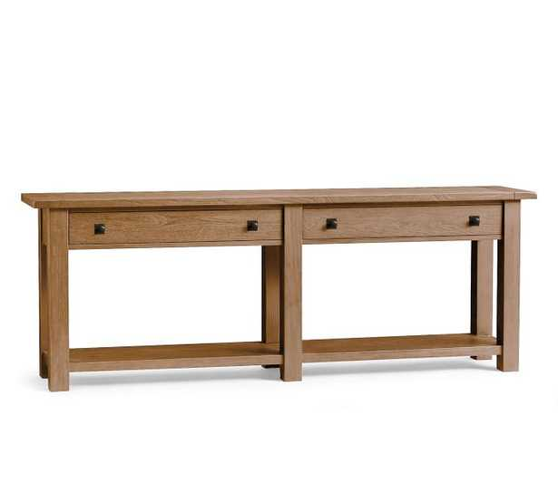 Benchwright Grand Console Table, Seadrift - Pottery Barn