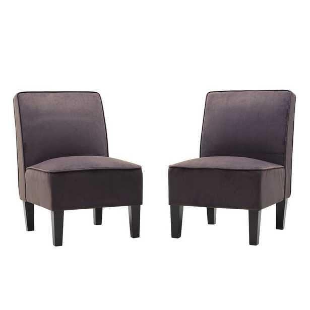 Ferebee Slipper Chair (set of 2) - Wayfair
