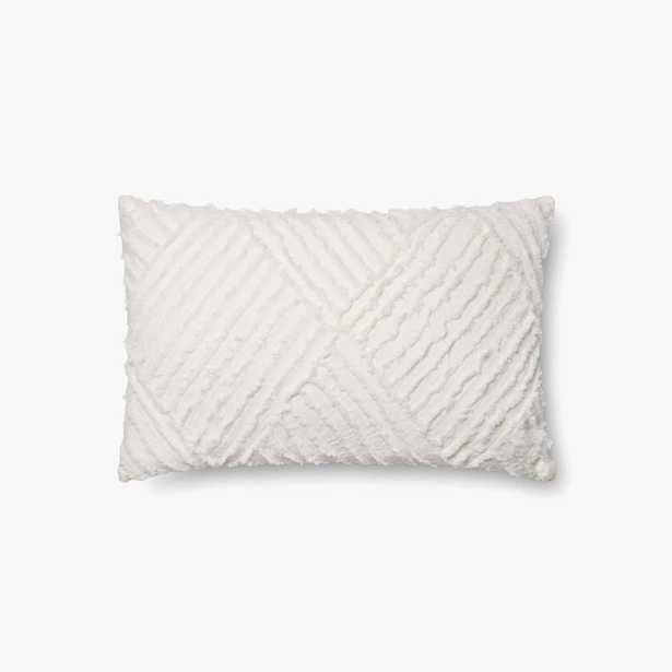 P1067 Mh White Pillow 13x21 Cover Only - Loma Threads