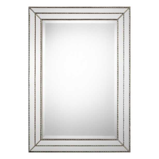 Willacoochee Traditional Rectangle Metallic Framed Accent Mirror - Wayfair