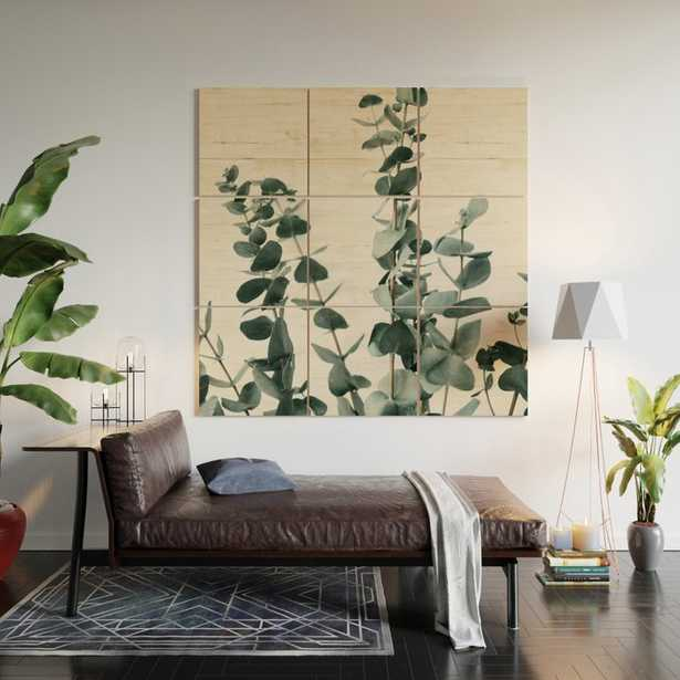 Eucalyptus Leaves Wood Wall Art - Society6