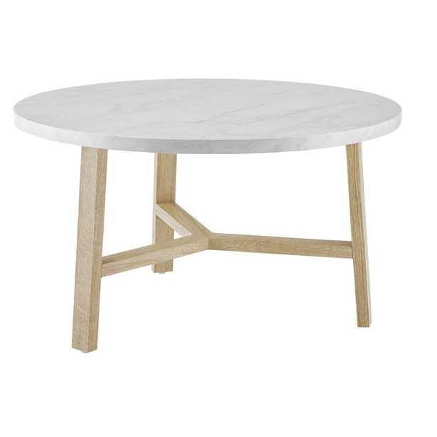 Marisela Round Coffee Table - Wayfair