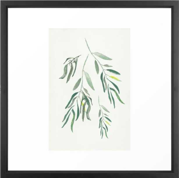 Eucalyptus Branches II Framed Art Print - Society6