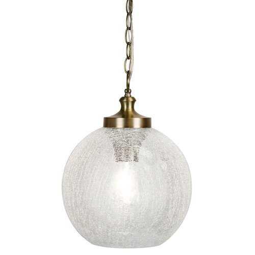 Forbis 1 - Light Single Globe Pendant - Wayfair