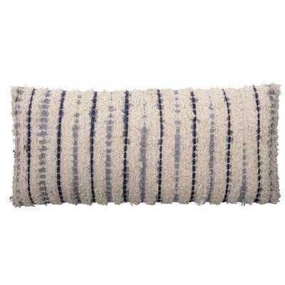 Gilman Cotton Striped Lumbar Pillow - Wayfair