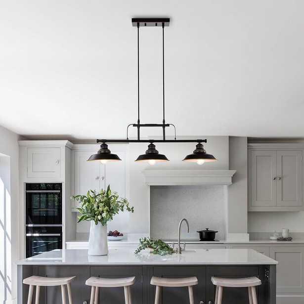 Capavella 3 - Light Kitchen Island Linear Pendant - Wayfair