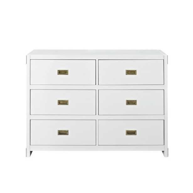 Wilmslow 6 Drawer Double Dresser - Wayfair