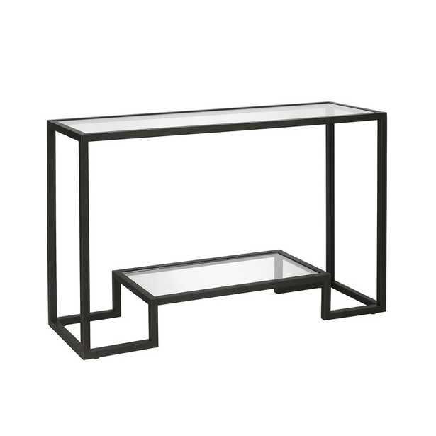 Imel Console Table, Black - Wayfair