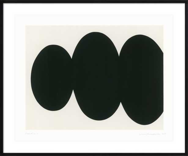 "Black Form, 47"" x 39"" - Artfully Walls"