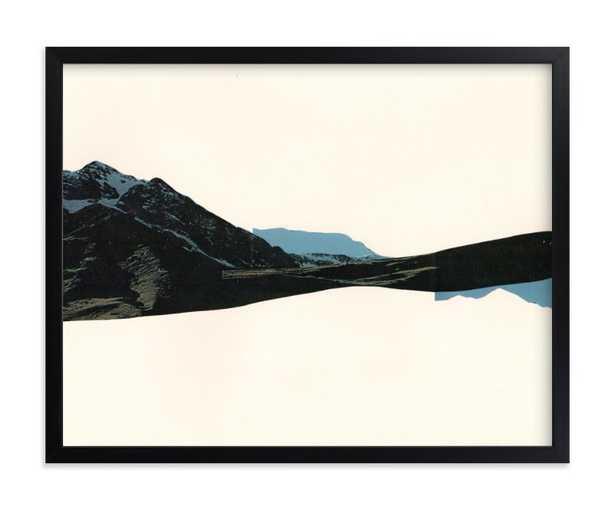 "spliced landscape 1-classic black frame 14""x11"" - Minted"