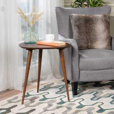 Kamile Solid Wood 3 Legs End Table - Wayfair