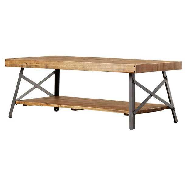 Laguna Coffee Table with Storage - Wayfair