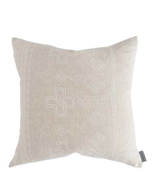 JAMILLE WOVEN PILLOW COVER - McGee & Co.