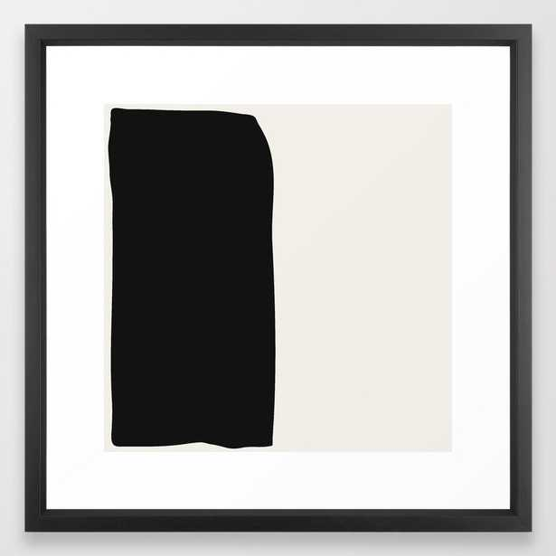 Black Book Framed Art Print - Society6