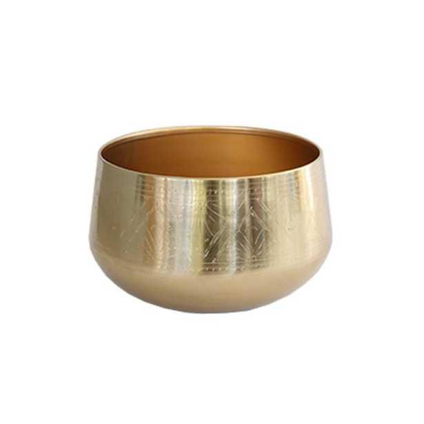 Gold Tulum Pot - Large - McGee & Co.