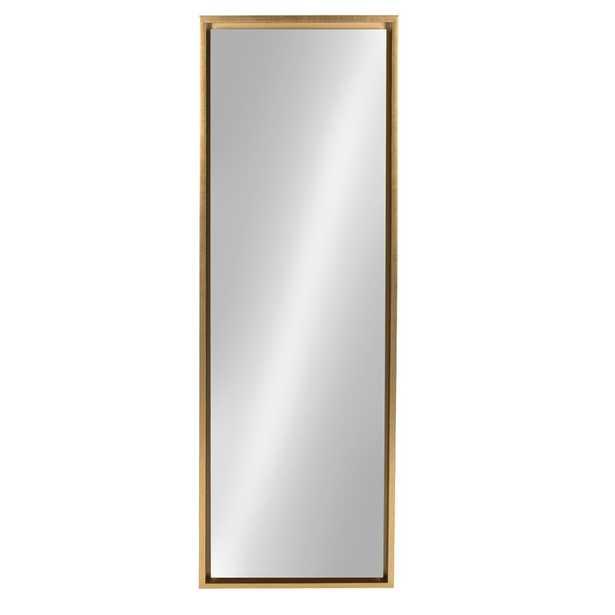 Belchertown Full Length Mirror - Brass - Wayfair