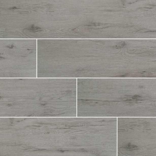 "Celeste 8"" x 40"" Ceramic Wood Look Field Tile - Wayfair"