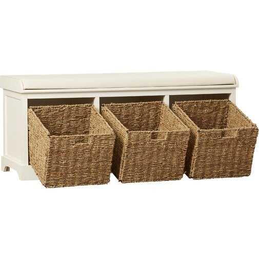 Roselli Upholstered Storage Bench - Birch Lane
