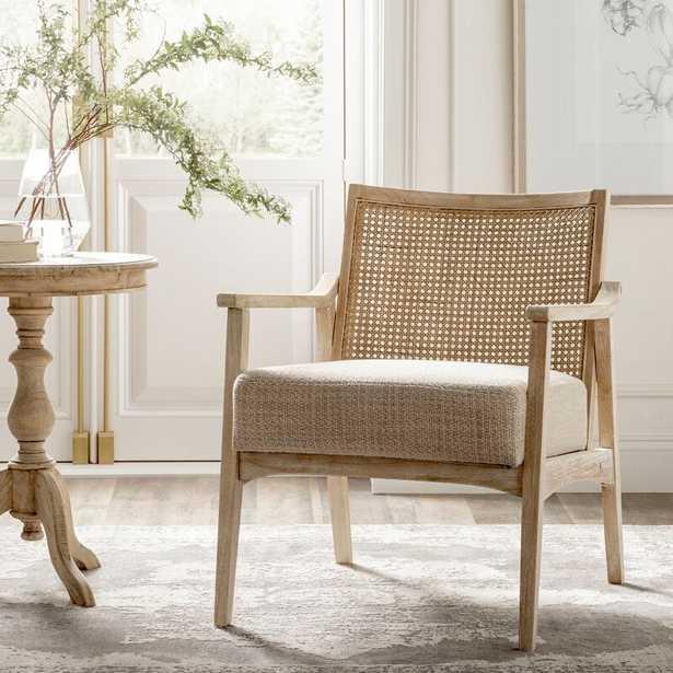 Centennial 25'' Wide Tufted Polyester Armchair - Wayfair