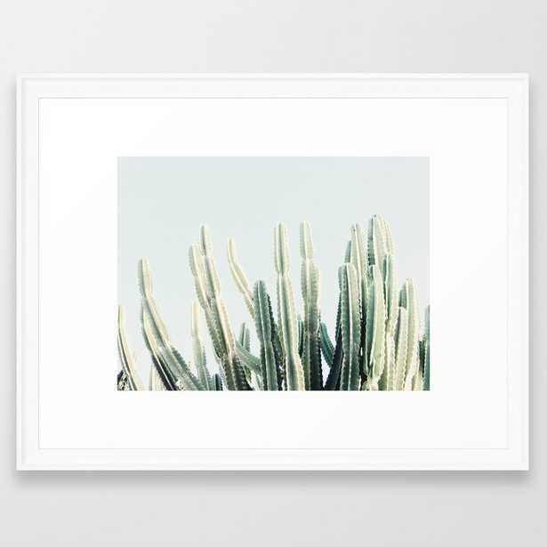 """Desert Framed Art Print - Scoop Black Mini 10"""" x 12"""" by Almostmakesperfect - Society6"""
