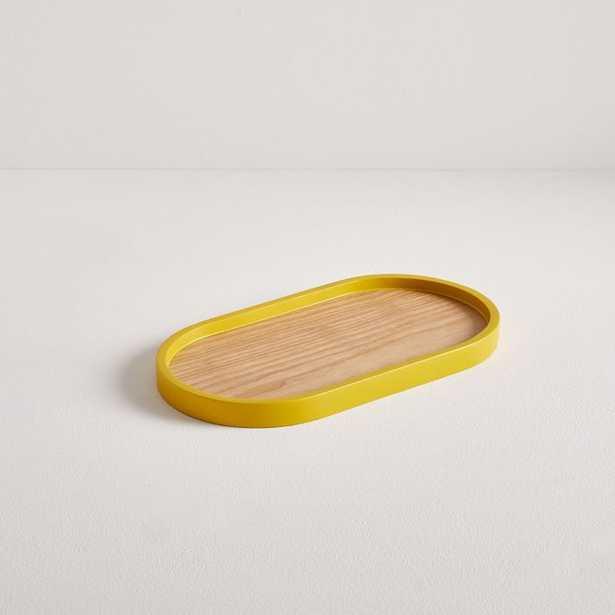 Color Pop Tray, Golden Yellow - West Elm