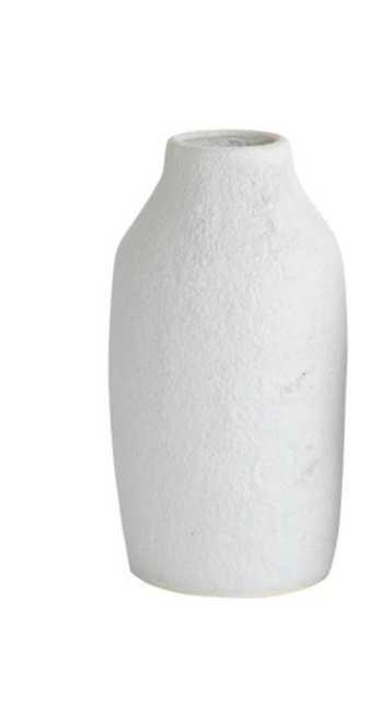 Textured Stoneware Vase - Large - McGee & Co.