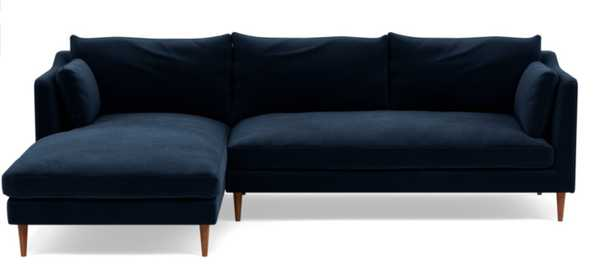 CUSTOM: CAITLIN BY THE EVERYGIRL Sectional Sofa with Left Chaise - Interior Define