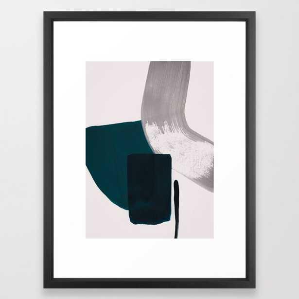 minimalist painting 02 Framed Art Print by Patternization - Society6