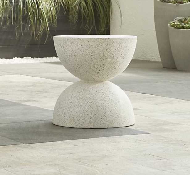 Ridge Side Table-Stool - Crate and Barrel