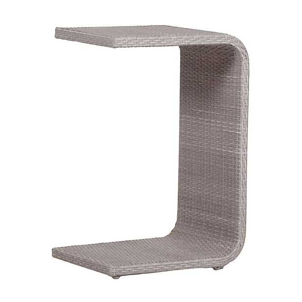 Summer Classics C Table Woven Frame Color: Oyster - Perigold