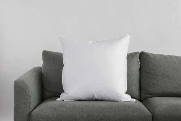 """24""""x24"""" Down Alternative Decorative Pillow Insert - Havenly Essentials"""