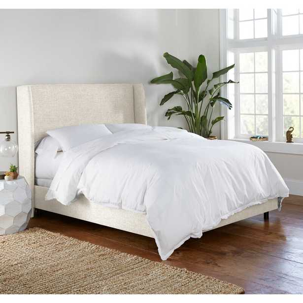 Charlotte Upholstered Low Profile Standard Bed - Wayfair