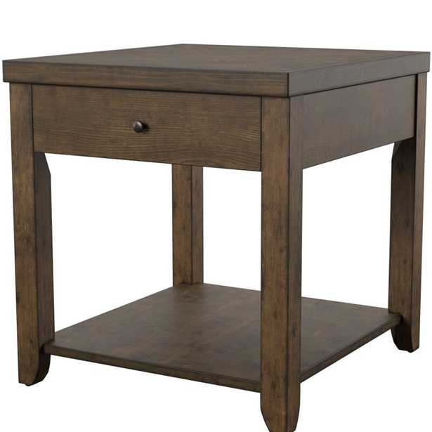 Bleckley End Table with Storage - Birch Lane