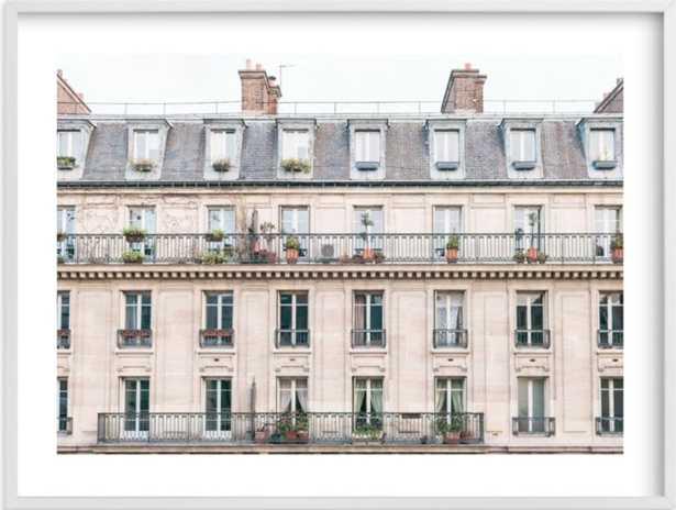 "Days in Paris 40"" x 30"" - Minted"