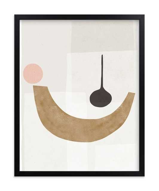 "The Balancing 1 Art Print / black / 11""x 14"" - Minted"