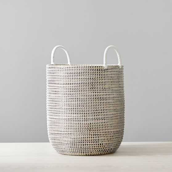 Woven Seagrass Storage Basket - Pottery Barn