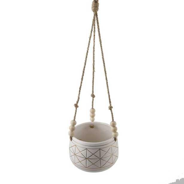 Aranza Ceramic Hanging Planter - Wayfair